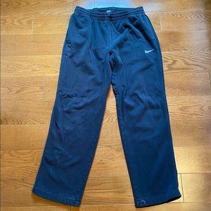 NIKE mens black sweatpants size large
